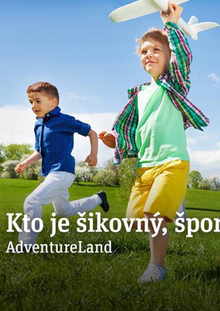 4fe8258bb Presne pre takéto deti sme pripravili športové aktivity na rôznych  atrakciách nášho AdventureLand. K tomu aj možnosť ukázať svoju fantáziu a  schopnosť ...
